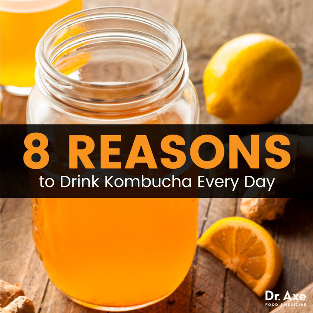 8 Benefits of Kombucha