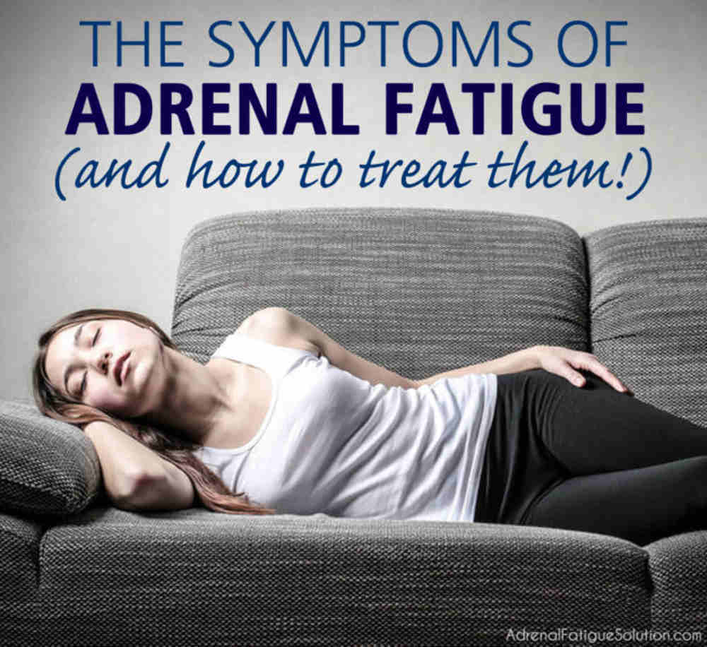 7 Common Adrenal Fatigue Symptoms